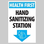 Hand Sanitizing Station - Decal