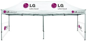 10' x 20' Deluxe Event Tent - 6 Color Thermal Printing